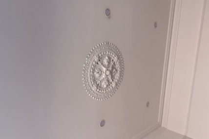 LED Downlights in Heritage Homes – yes you can!!!!